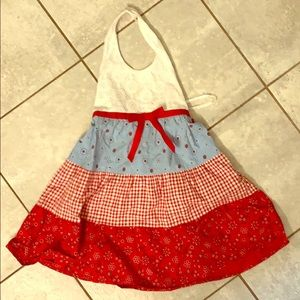 Girls 5 Halter Dress